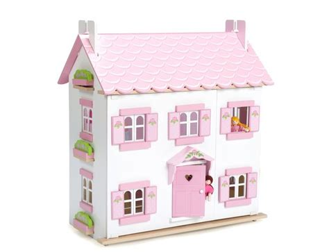 lavender dolls house le toy van the lavender wooden dolls house h108b 163 102 99