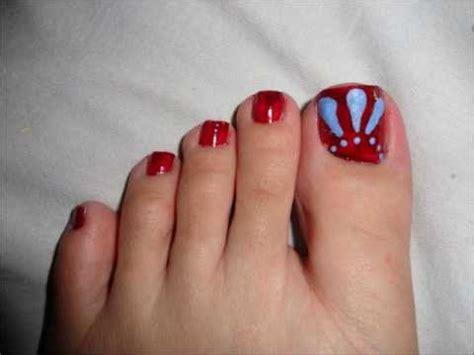 youtube toe nail art tutorial winter colors inspired toe nail art tutorial by pinkpuff