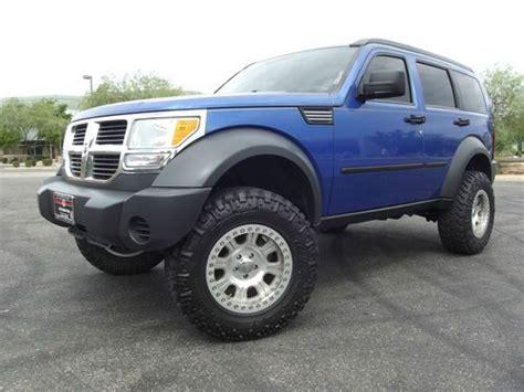 lifted jeep nitro dodge nitro with black wheels sell used 2007 dodge nitro