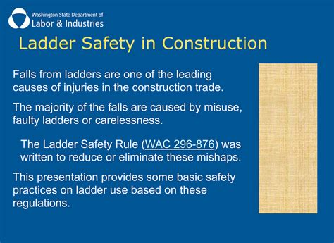 atlantic s ladder safety powerpoint