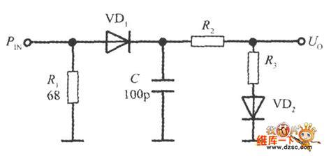 diode detector circuit temperature compensated diode input power detector circuit 555 circuit circuit diagram