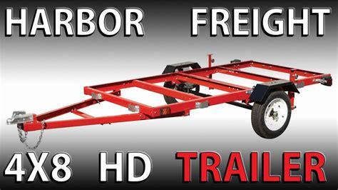 folding trailer boat kit assembling a harbor freight 4x8 heavy duty folding trailer
