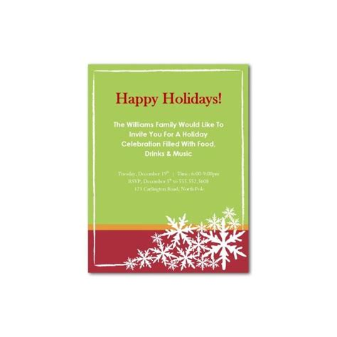 top 10 christmas party invitations templates designs for
