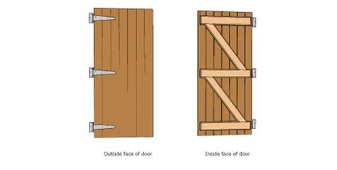 build  shed door  shed plans heres