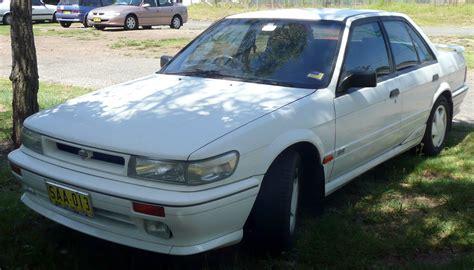 how can i learn about cars 1992 nissan sentra interior lighting file 1990 1992 nissan pintara u12 trx sedan 01 jpg wikimedia commons
