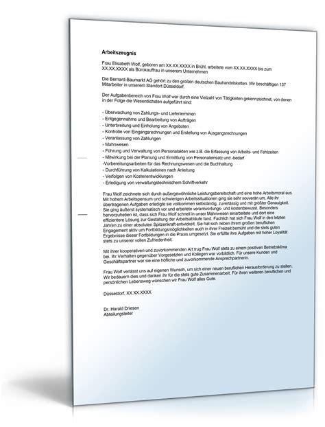 Anschreiben Qualifiziertes Zwischenzeugnis Arbeitszeugnis Quot Gut Quot B 252 Rokaufmann B 252 Rokauffrau