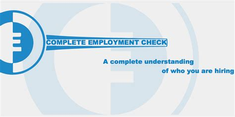 complete background check use complete employment check for all your employment
