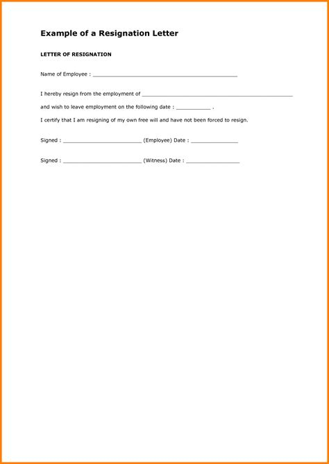 Resignation Letter Sle Housekeeping 6 Forced Resignation Letter Housekeeper Checklist