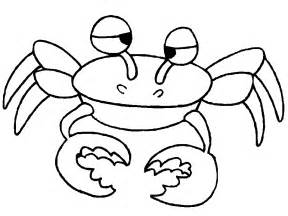 what color are crabs crab coloring pages coloringpages1001