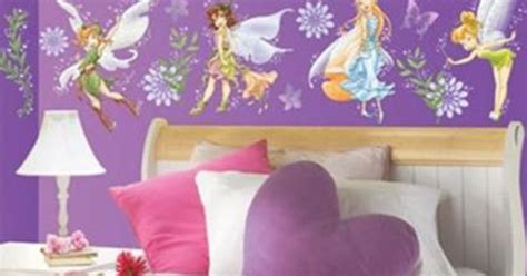 tinkerbell bedroom wallpaper girls bedroom ideas tinkerbell fairies wallpaper