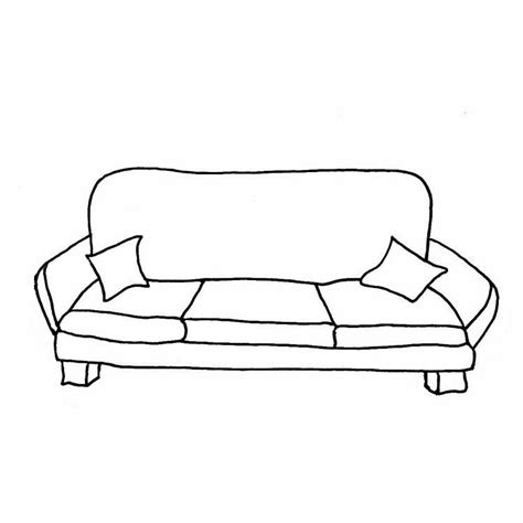 black and white couches clipart black and white home design