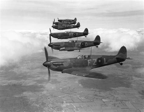 121st raf squadron markings supermarine spitfire mk i fighter aircraft of 65 squadron