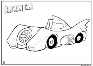 batman car coloring page printable 01