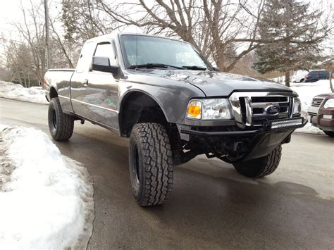 Ford Ranger Front Bumper by 2000 Ford Ranger Bumpers