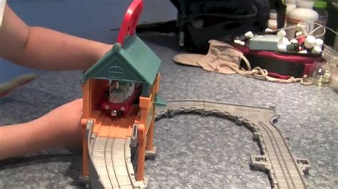 Sodor Steamworks Repair Shed by And Friends Take N Play Sodor Steamworks Repair