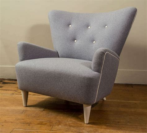 custom armchair custom made mid century style armchair at 1stdibs