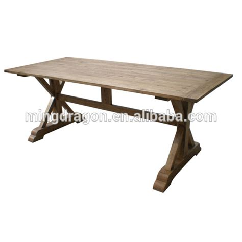 recycle wood furniture dining table antique solid wood