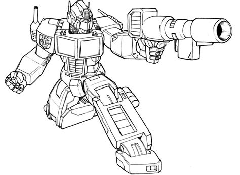 transformer coloring pages for kids coloring home