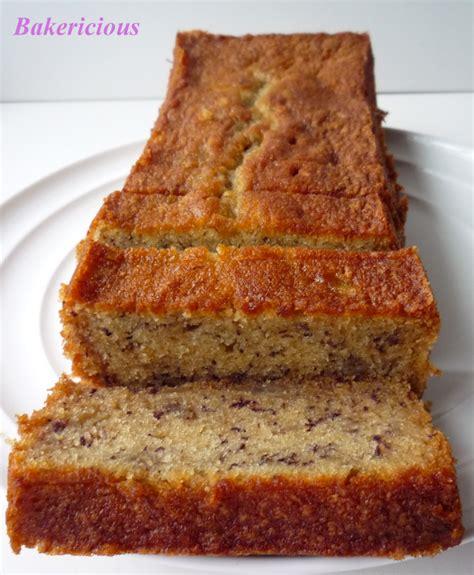 Banana Cake bakericious soft and moist banana cake