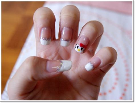 nail design tips home 22 awesome french tip nail designs