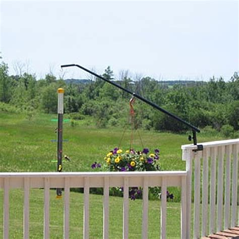 utili pole deck rail mount