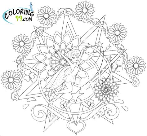 tinkerbell and her fairy friends coloring pages
