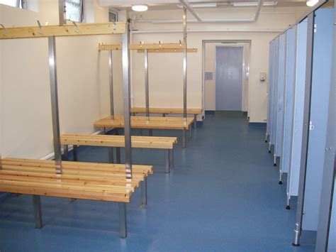 Changing Room by Swimming Pool Leisure Facilities Hebron Christian