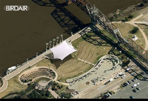 shreveport park shreveport riverview hitheater projects birdair inc