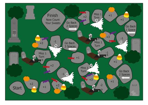 printable subtraction board games ks1 halloween early years board game free early years