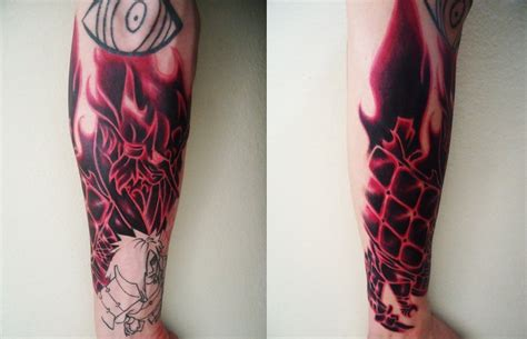 uchiha madara tattoo by shirotom on deviantart