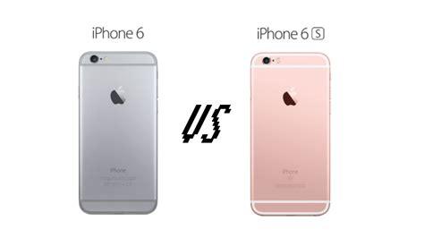 Iphone 6 Dan 6s iphone iphone 6s vs iphone 6
