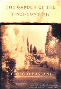 the garden of the finzi continis printed matter