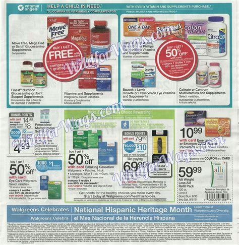 Walgreens Monthly Sweepstakes - sneak peek walgreens weekly ad scan 8 30