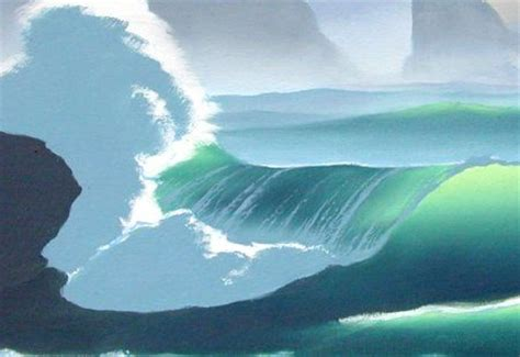 watercolor waves tutorial watercolors how to paint and colors on pinterest