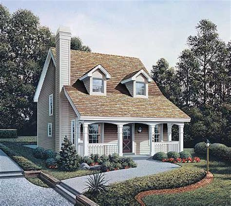 small country house designs country appeal for a small lot 57027ha architectural designs house plans