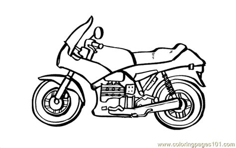motorcycle coloring pages pdf coloring pages motorcycle coloring page 06 transport