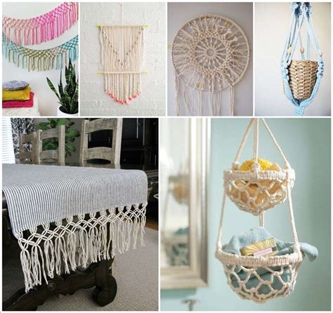 Macrame Craft Ideas - macrame projects crafts