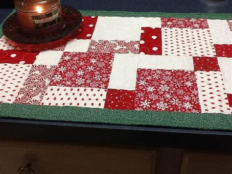 white christmas table runner quilted red and white christmas table runner with green