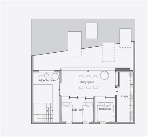 office block floor plans suppose design office hides garden beneath roof of house