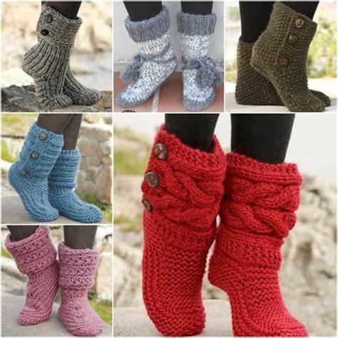 free pattern knitted slipper boots wonderful diy crochet hexagon slipper boots free pattern