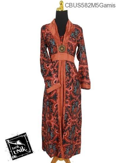 Kemben Inner Casual sarimbit gamis semi motif jokowi gamis batik murah batikunik
