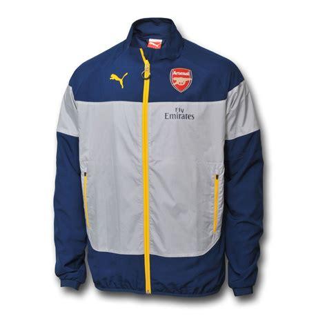 Sweater Half Zipper Arsenal Blue 3rd 2014 2015 arsenal leisure jacket blue grey 74638203m uksoccershop