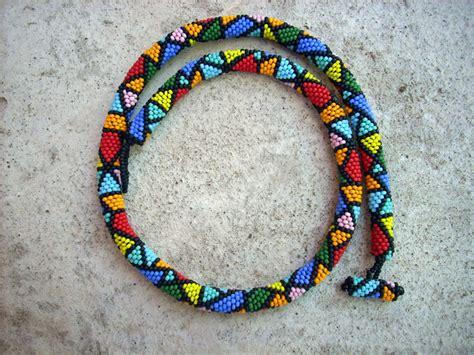 beaded rope amazing beaded crochet rope bracelets trendyoutlook