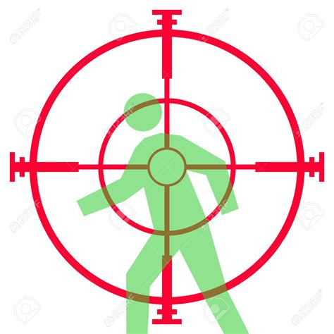 printable rifle scope targets target clipart sniper rifle pencil and in color target