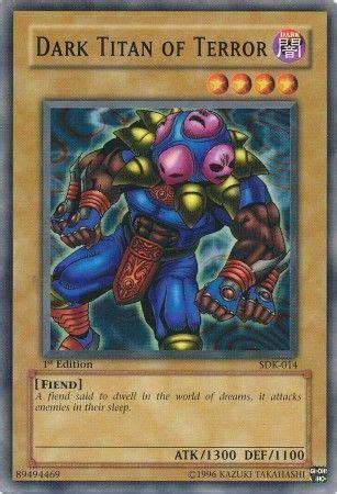 Kartu Cardfight Vanguard Of Terror Thermidor C titan of terror sdk 014 common starter deck kaiba sdk singles yugioh