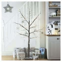 buy tesco 6ft luxury frosted twig christmas tree from our