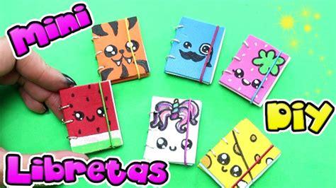 imagenes utiles escolares para niños mini libretas kawaii con anillas manualidades f 225 ciles