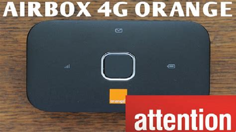 airbox orange airbox 4g orange attention