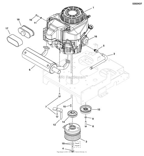 snapper pro  swkav  walk  mower parts diagram  engine pto group