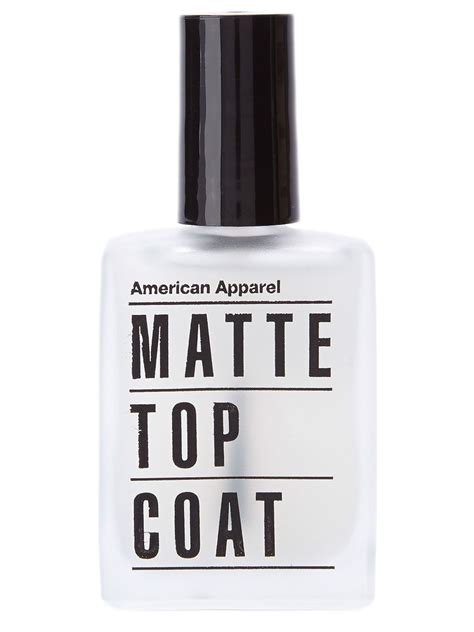 best matte top coat nail matte top coat nail american apparel